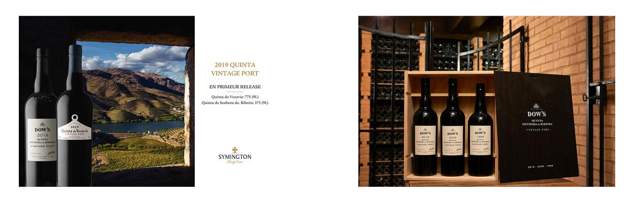 2019 Symington Single Quinta Ports & Collection Cases