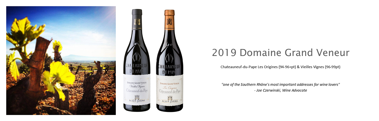 Highly Rated Chateauneuf-du-Pape