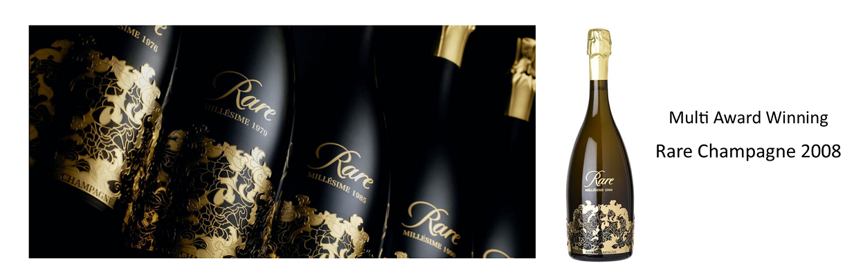 Multi Award-Winning 2008 Rare Champagne