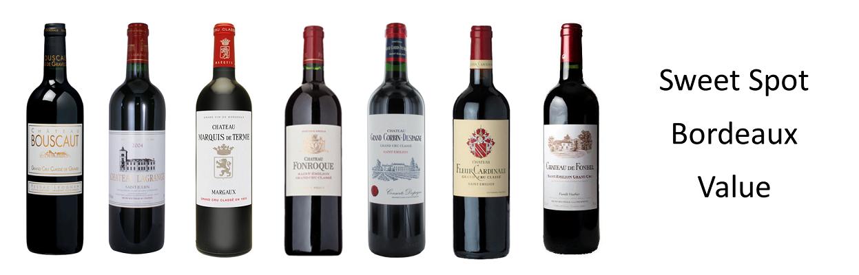 Sweet Spot Bordeaux Value