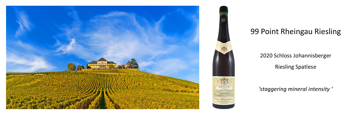 99 point Riesling Spatlese - pre-shipment offer