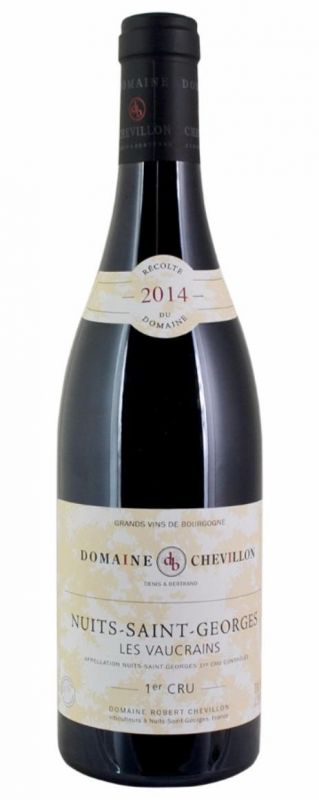 Robert Chevillon, Nuits Saint Georges Vaucrains 2014