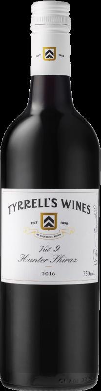 2016 Vat 9 Shiraz, Tyrrell's, 6x750ml