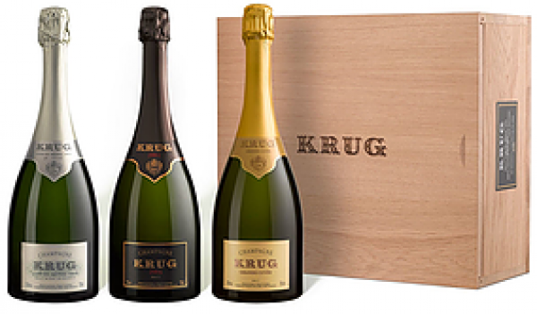 2004 Krug, Soloist Orchestra Assortment Case, 3x750ml