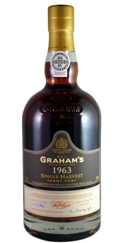 1963 Graham's, Single Harvest Tawny