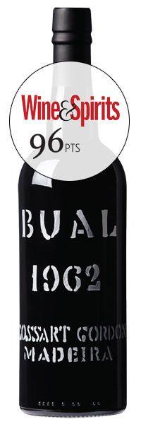 1962 Cossart Gordon, Bual Madeira, 1x750ml
