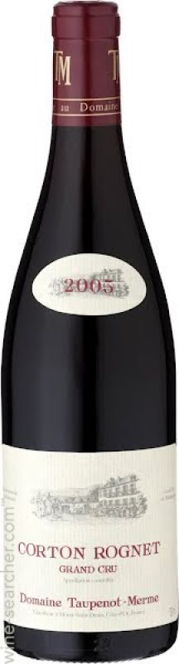 2008 Taupenot Merme, Corton Rognet