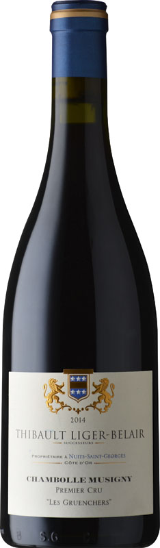 2011 Thibault Liger Belair, Chambolle Musigny Gruenchers