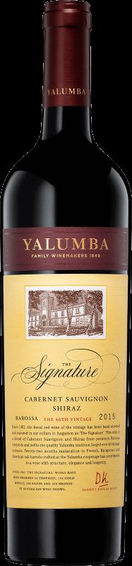 2015 Yalumba, The Signature, 6x750ml