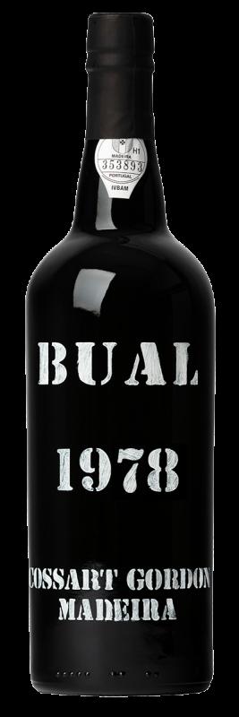 1978 Cossart Gordon, Bual, 6x750ml