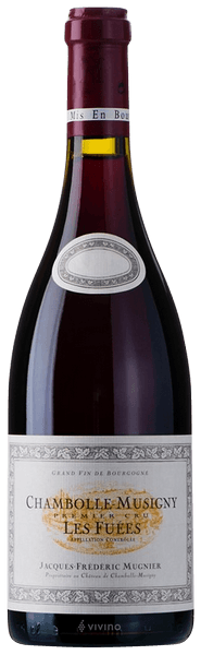 2015 Jacques Frederic Mugnier, Chambolle Musigny Fuees