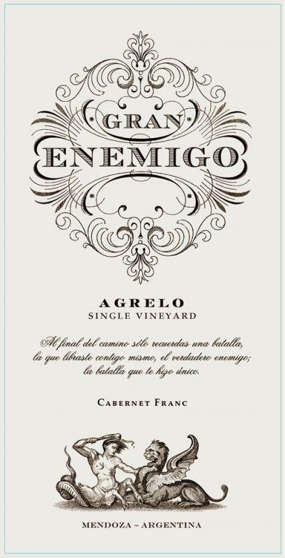 Agrelo, 2013, Gran Enemigo, 6x750ml