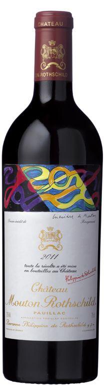 2011 Mouton Rothschild, 6x750ml