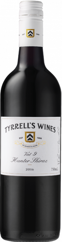 2018 Tyrrell's, VAT 9 Shiraz, 6x750ml