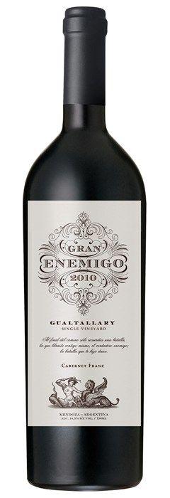 2017 Gran Enemigo Gualtallary, 1x1.5ltr