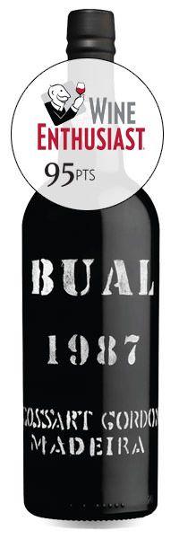 1987 Cossart Gordon, Bual, 12x375ml