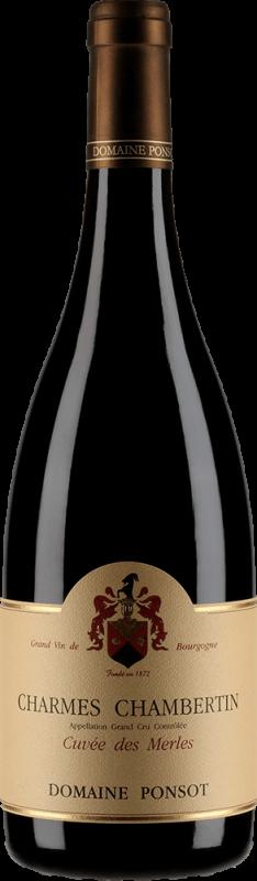 Ponsot, Charmes Chambertin Cuvee Merles 2015