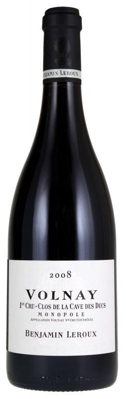 2009 Benjamin Leroux, Volnay Clos des Ducs, 6x750ml