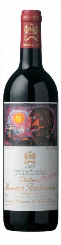1998 Mouton Rothschild, 6x750ml