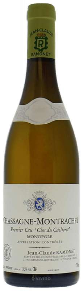 2015 Ramonet, Chassagne Montrachet Caillerets, 6x750ml