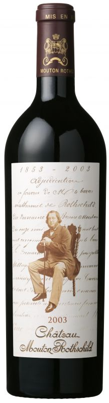 2003 Mouton Rothschild, 12x750ml