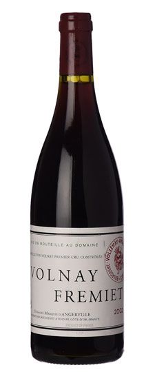 Marquis d'Angerville, Volnay Fremiets 2009