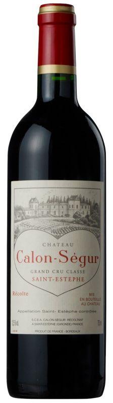 2007 Calon Segur, 12x750ml