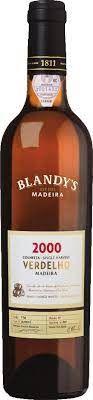 2000 Blandy's, Colheita Verdelho Single Harvest, 6x500ml