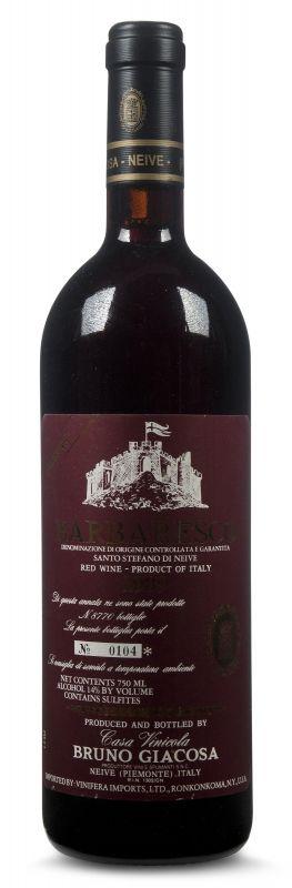 1998 Bruno Giacosa, Barbaresco Santo Stefano Riserva, 6x750ml