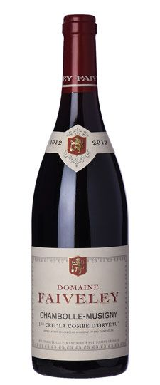 2012 Domaine Faiveley, Chambolle Musigny Combe d'Orveau, 6x750ml