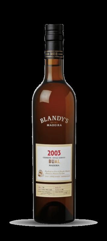 2003 Blandy's, Colheita Bual Single Harvest, 6x500ml