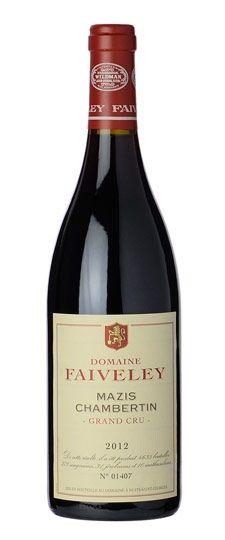 2012 Domaine Faiveley, Mazis Chambertin, 6x750ml