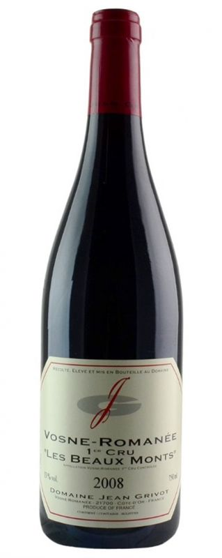 2008 Jean Grivot, Vosne Romanee Beaumonts, 12x750ml
