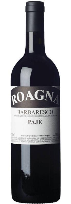 2009 Barbaresco Paje VV, Roagna