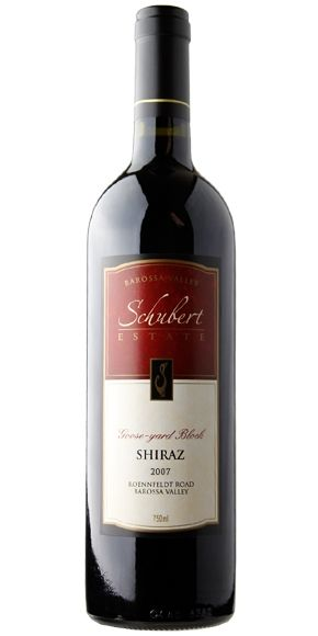2006 Schubert Estate, Goose Yard Block Shiraz