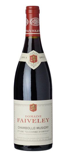 2013 Domaine Faiveley, Chambolle Musigny Combe d'Orveau, 6x750ml